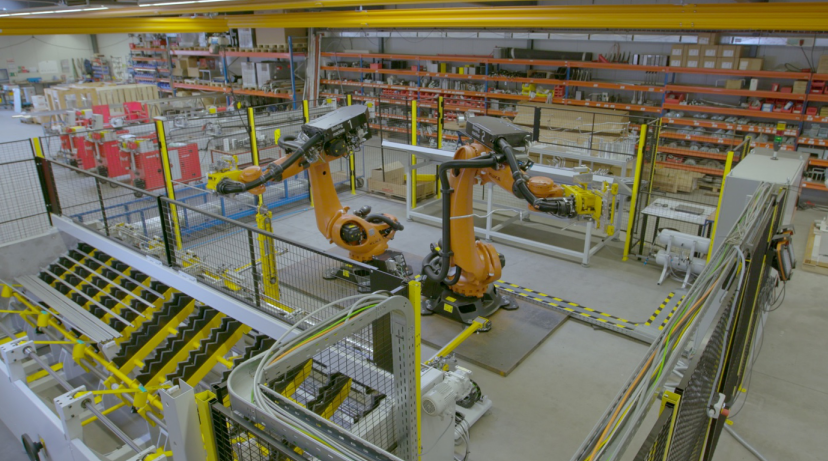 Tube Manufacturing | transfluid: Robots as efficient tube bending machines